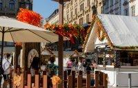 Svatováclavské trhy, Václavské náměstí