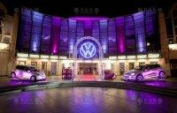 Svítící logo Volkswagen