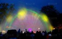 Světelné show a projekce