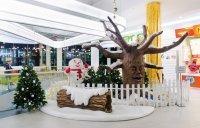 Česká republika - mluvící strom, pohyblivý sněhulák