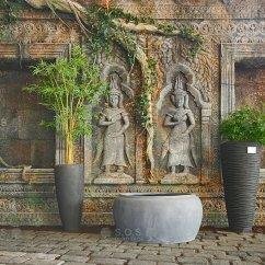 Imitace - Chrám Angkor Vat, Kambodža, showroom Praha