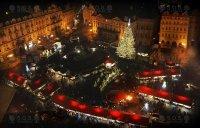 Vánoční trhy, Staroměstské náměstí, Praha