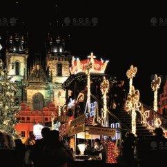 VIDEO: Rozsvěcení vánočního stromu, Staroměstské náměstí, Praha