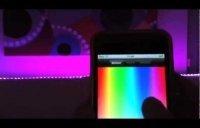 Změna barev dekorací pomocí aplikace