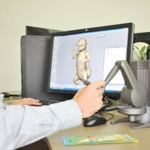 Desktop paže pro 3D modelování